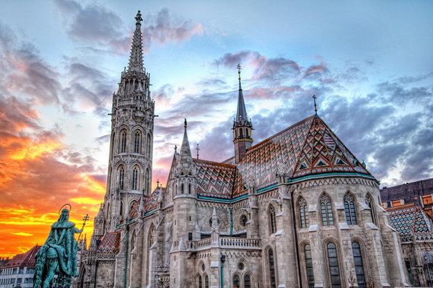 Kostol sv. Mateja v Budapešti.
