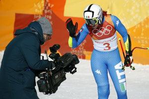 Talianka Johanna Schnarfová skončila piata.