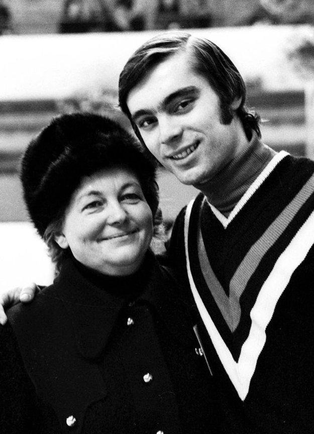 Hilda Múdra s najúspešnejším zverencom Ondrejom Nepelom.