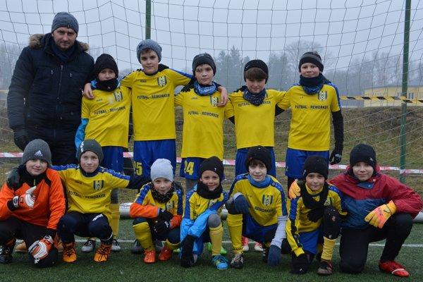 Mužstvo U11.