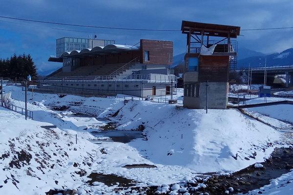Areál vodného slalomu Ondreja Cibáka v Liptovskom Mikuláši.
