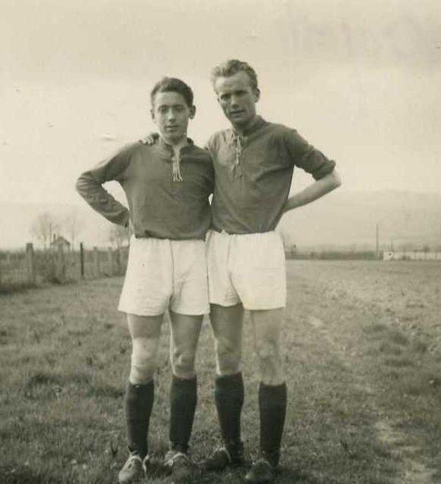 So Štefanom Gürtlerom, ikonou prievidzského futbalu.