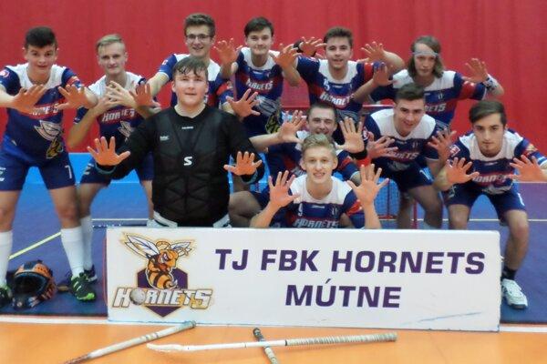 Juniori Mútneho sa hneď v prvej sezóne v extralige dočkali postupu do play off.
