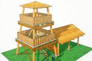 Takto bude vyzerať veža na zubrohlavskej Kmeťovke.