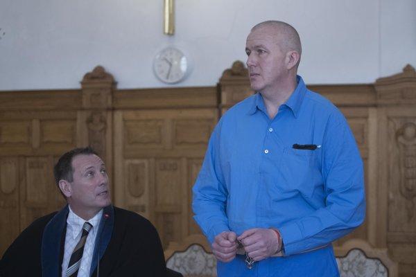 Martin K. prezývaný Rybička na Špecializovanom trestnom súde v Banskej Bystrici.