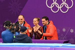 Nicole Rajičová bola po svojej jazde spokojná.