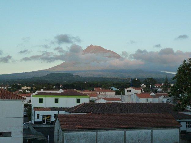 Mount Pico, najvyšší bod na Azoroch.