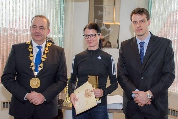 Zľava: Milan Gura, Radka Prívarová a Peter Strapáč.