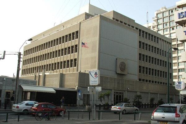Súčasná americká ambasáda v Tel Avive.