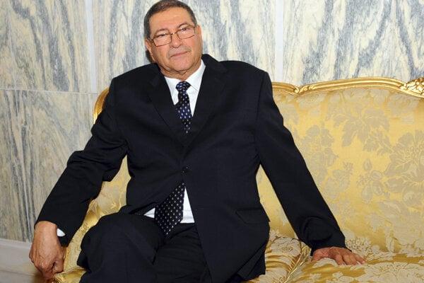 Tuniský premiér Habíb Síd.