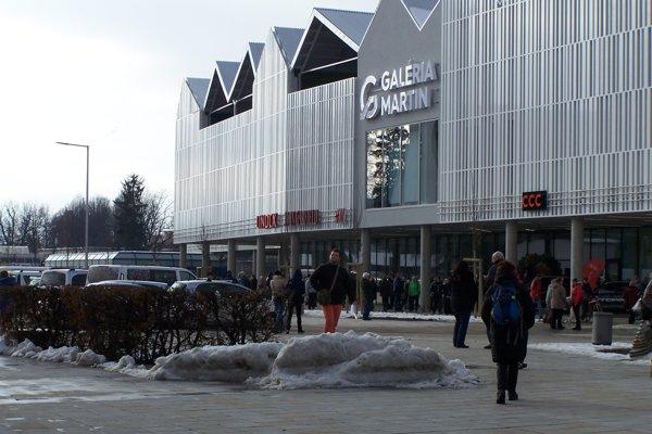 Kandidátom na jednu z nosných investícií mesta je aj priestranstvo medzi budovami OC Galéria a Sociálnej poisťovne.
