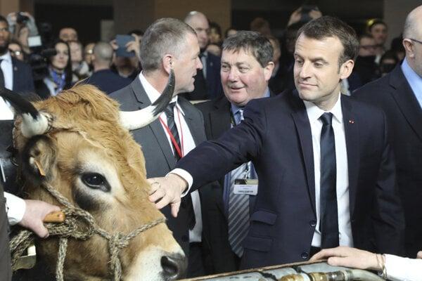 Macron chce obmedziť pesticídy, poľnohospodári proti tomu protestujú