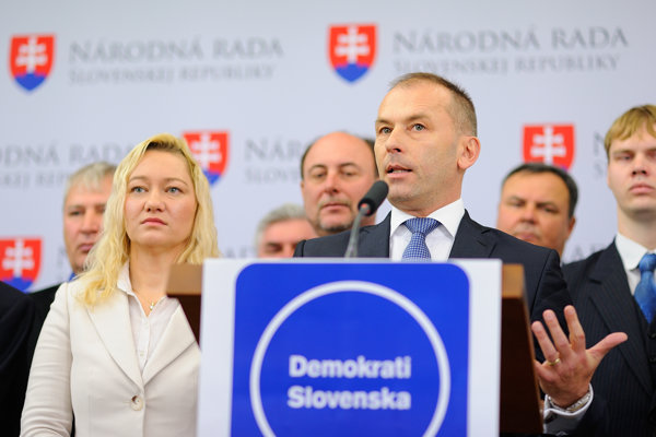 Kaník a jeho Demokrati Slovenska.