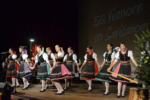 FS Šarišan sa predstaví hneď vtroch koncertoch.