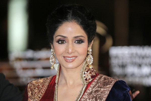 Sridevi Kapoorová bola jednou z najobľúbenejších bollywoodskych herečiek.