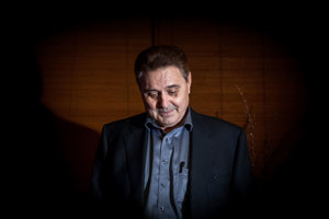 20. november 2013. Jozef Majský počas krstu knihy Som Jozef Majský.