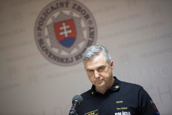 Policajný šéf Tibor Gašpar.