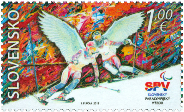 Pri príležitosti účasti Slovákov na ZPH 2018 v Pjongčangu vyšla pred necelým týždňom aj poštová známka.