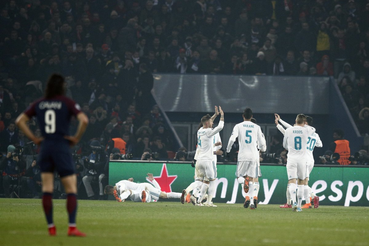 96afd87f3abd9 PSG : Real Madrid - Online - Liga majstrov 2017/2018 - Šport SME