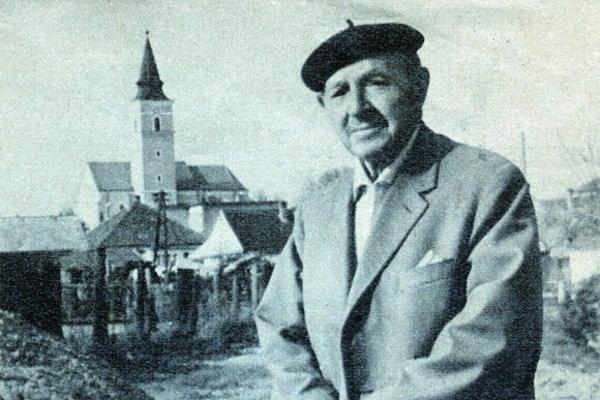 Martin Benka v Kostolišti.