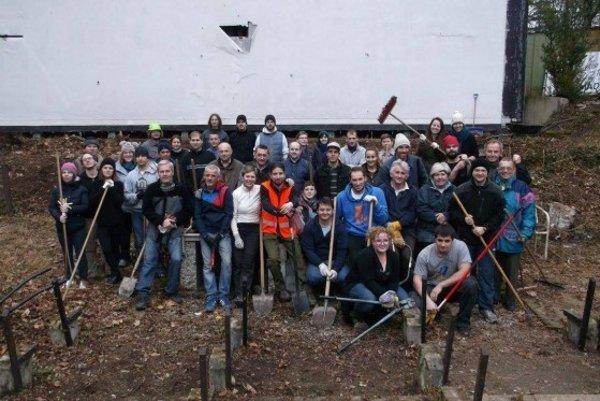 Prírodné kino  obnovujú  dobrovoľníci.