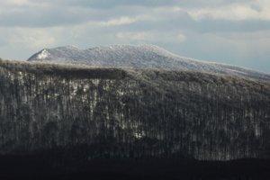 Detail na vrchol Vihorlatu.
