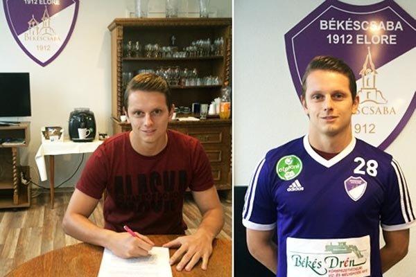 Matúš Paukner podpísal zmluvu na 2,5 roka.