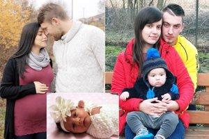 Michaela Göndörová (vľavo) a Patrik Mikuš sa tešia z malej Ninky. Rozhodkyňa Monika Hrúziková a futbalista Andrej Žemberi našli spolu šťastie. Radosť im robí malý Andrejko.