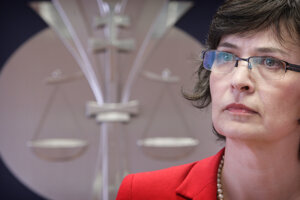 10. máj 2011. Ministerka spravodlivosti Lucia Žitňanská.