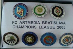 Odznakky Artmedie Petržalka