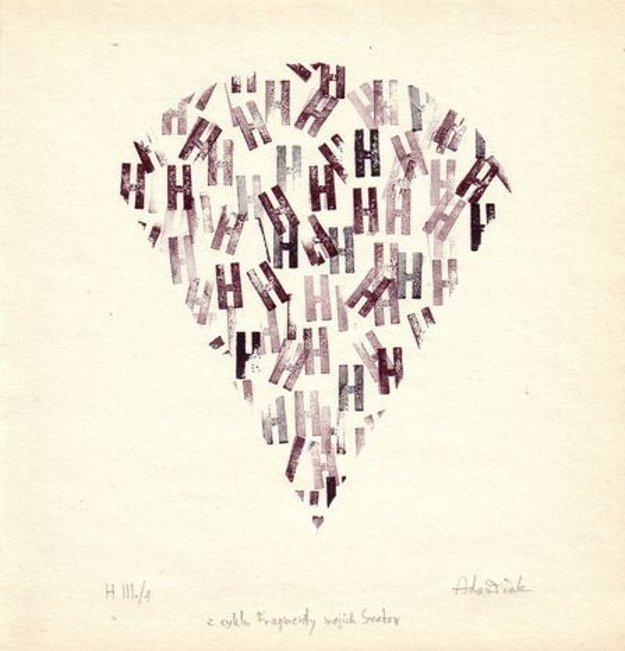 Milan Adamčiak: Z cyklu Fragmenty mojich svetov H