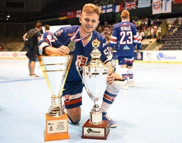 Martin Kollár, hokejbalový majster sveta.