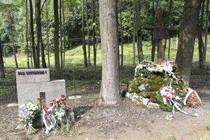 Pamätník rómskych obetí.
