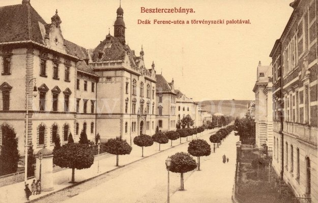 Skuteckého ulica v roku 1910