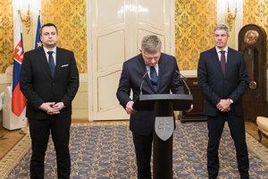 Premiér Fico podá demisiu.