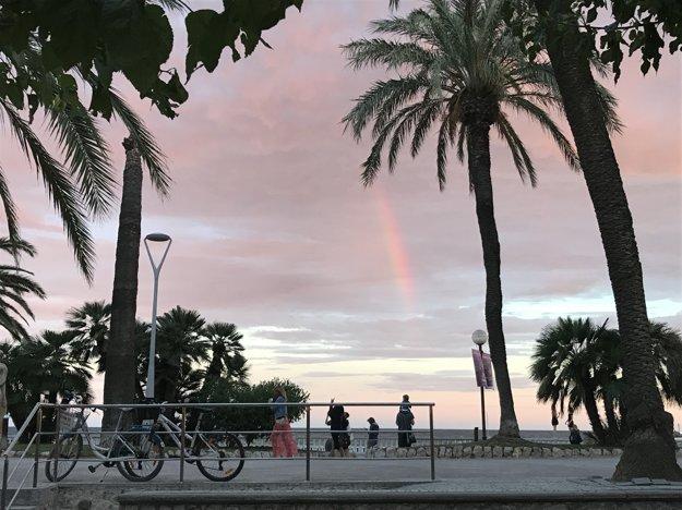 Západy slnka v Barcelone