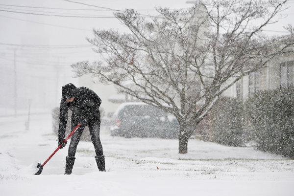 Severovýchod USA čaká poriadna nádielka snehu.