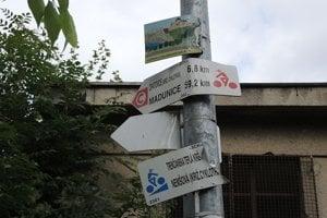 Obnovia značky pre cyklistov.