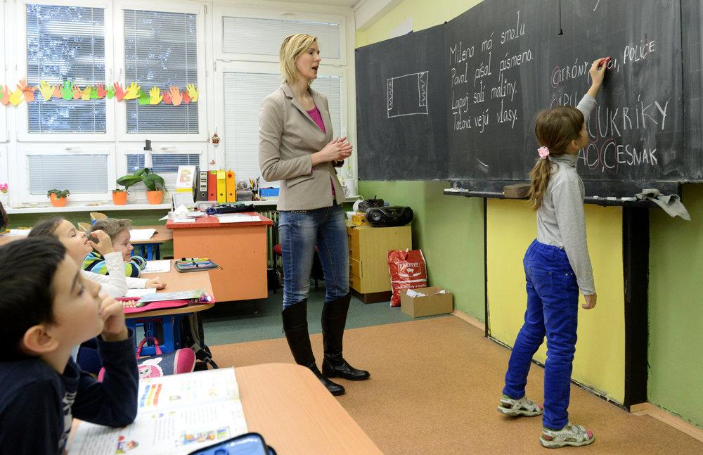 Základná škola Jozefa Urbana v Košiciach sa zapojila do neobmedzeného ostrého štrajku, ale vyučovanie prebieha pre žiakov prvého ročníka.
