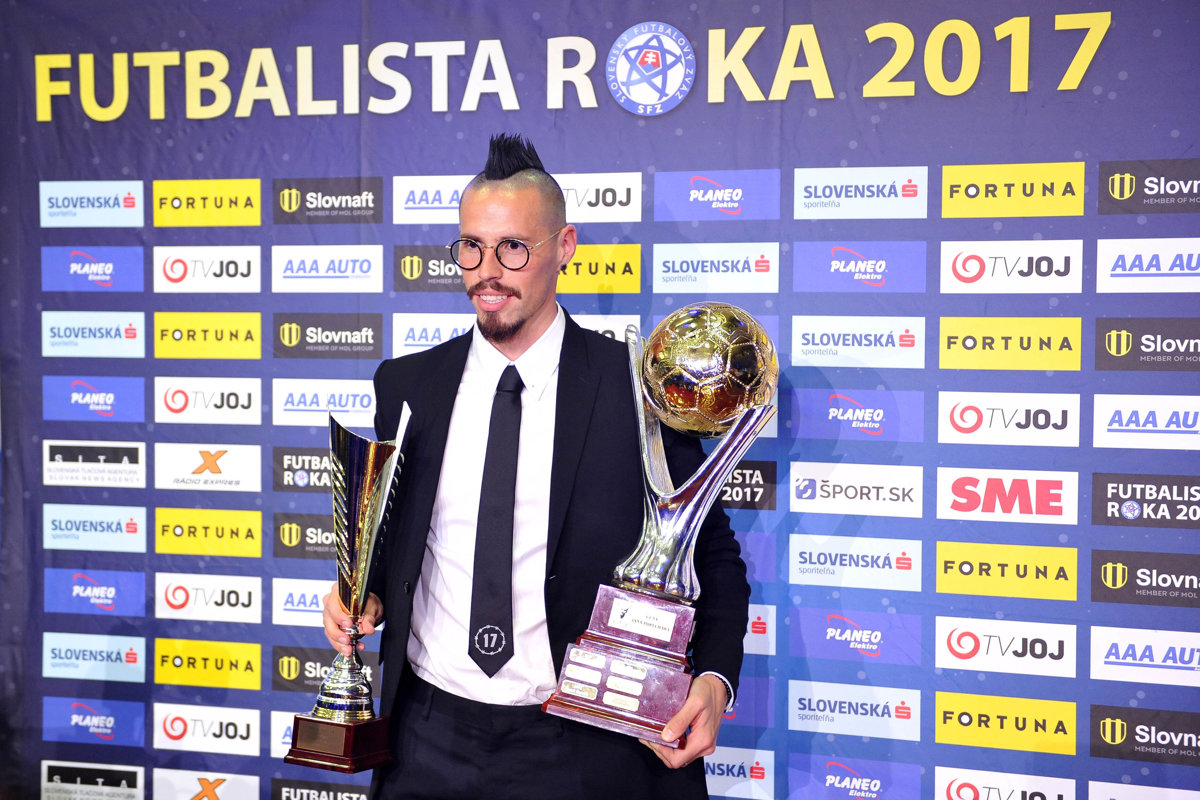 219ad22a91 Futbalista roka 2017 - hlasovanie (tréneri