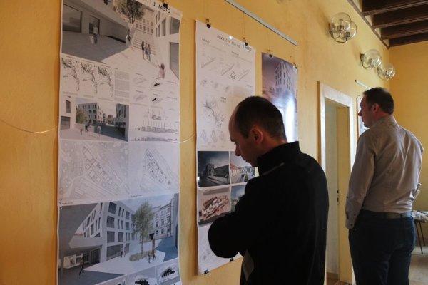 Výstava víťazných návrhov potrvá v Rubigallovom dome do konca marca.