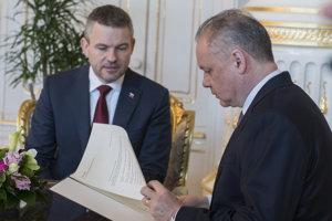 Peter Pellegrini odovzdal  prezidentovi SR Andrejovi Kiskovi druhý návrh na členov jeho vlády.