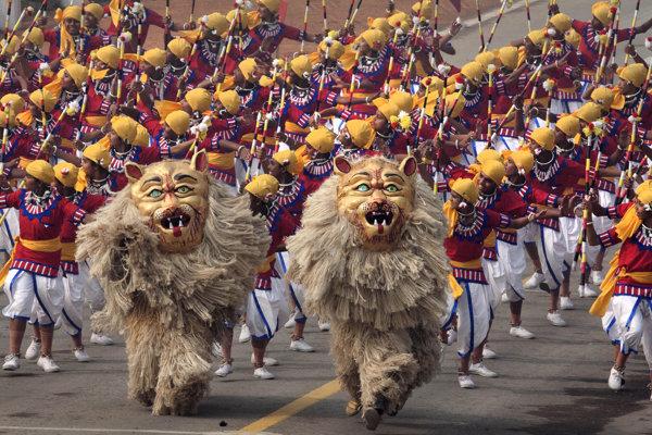 V Indii prebiehajú oslavy Dňa republiky.