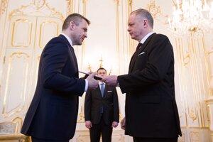 Prezident vymenoval za premiéra Petra Pellegriniho.