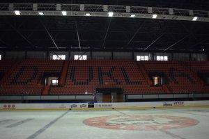 Michalovský zimný štadión.