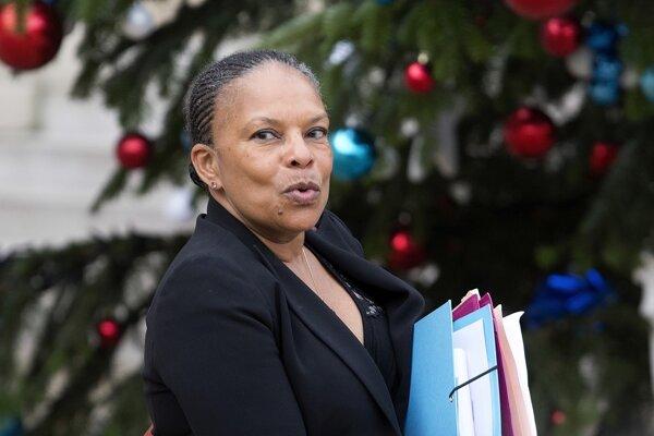 Bývalá ministerka spravodlivosti Christiane Taubirová.