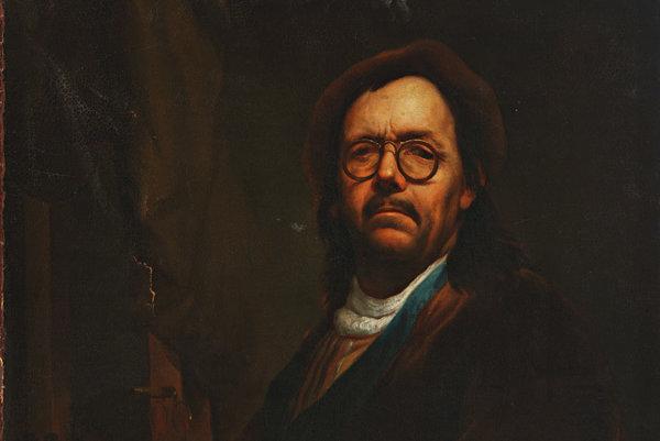 Podobizeň Jána Kupeckého. Autorom je neznámy maliar zjeho okolia.