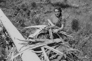 3.8. 1965 pri Čiernom Váhu. Lesný závod Čierny Váh, ktorý obhospodaruje 23 tisíc ha lesa, postihla vlani koncom novembra tak ako ďalšie lesné oblasti veterná smršť. Prehnala sa cez lesy, dolámala a vyvrátila 100 tisíc PLM dreva. Pracovníci tohto závodu za pomoci brigádnikov spracovali doteraz takmer 90 tisíc kubíkov dreva. Je potešujúce, že na tomto závode zároveň s ťažbou a približovaním robia aj asanáciu lesa, čím sa zabráni rozširovaniu kôrovca.