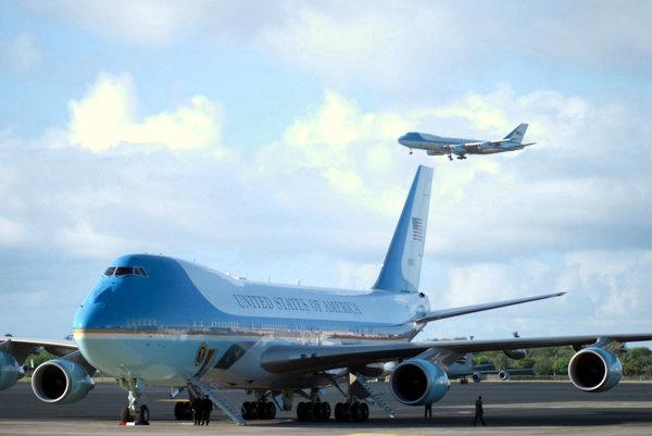 Prezidentská Boeing 747.