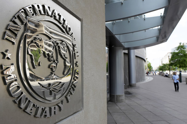 Sídlo Medzinárodného menového fondu vo Washingtone.